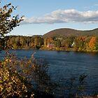 Autumnal River by Joe Jennelle