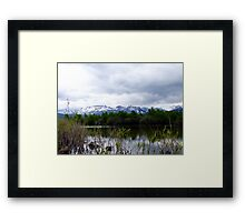 Maskinonge Waters Framed Print