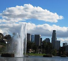 Echo Park in Los Angeles by loiteke