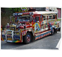 The Philippine Jeepney Poster