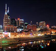 Nashville Skyline by xPressiveImages