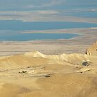 Dead Sea From Masada by Michael Redbourn