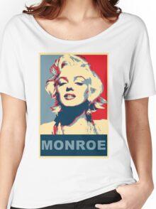 Marilyn Monroe Pop Art Campaign  Women's Relaxed Fit T-Shirt