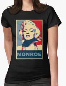 Marilyn Monroe Pop Art Campaign  Womens Fitted T-Shirt