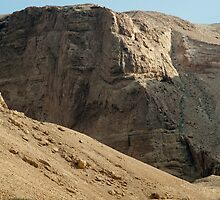 Masada Mountains In Israel by Michael Redbourn