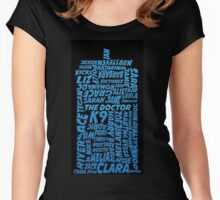 Tardis Companions Women's Fitted Scoop T-Shirt