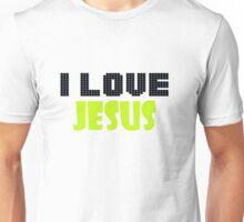 I love Jesus design 2 Unisex T-Shirt