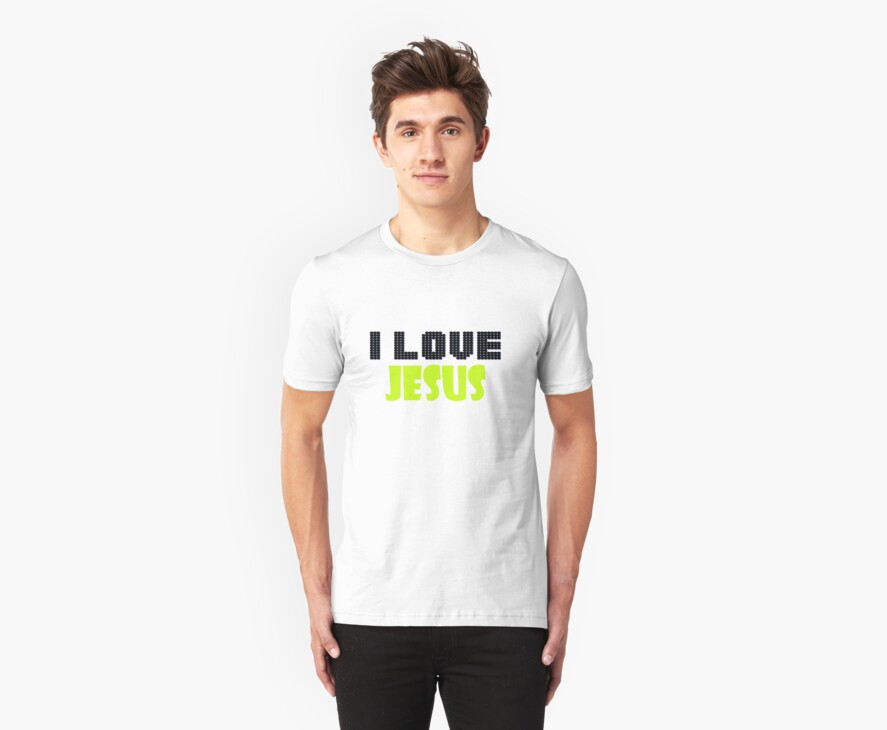 I love Jesus design 2 by mayatut