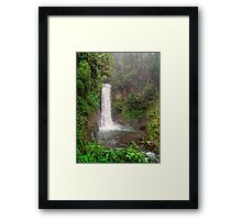La Paz Waterfall Framed Print