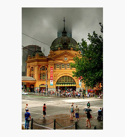Flinder's Street Station Photographic Print