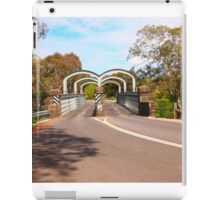 On route to Redesdale 2-arch bridge along the Mia Mia - Redesdale Road VIC Australia iPad Case/Skin