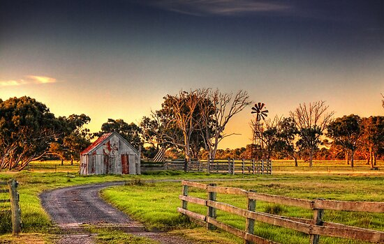 Down by the Farm - Repost by Sean Farrow