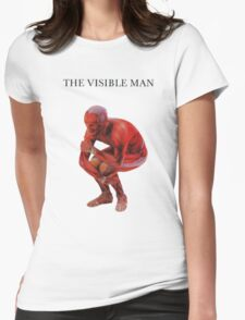 david byrne the visible man Womens Fitted T-Shirt