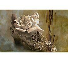 """The Gentlewoman's Shoe ..."" Photographic Print"