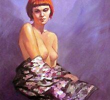Portrait of Josephine by Roz McQuillan