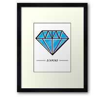Diamond Framed Print