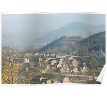 moutain village Poster