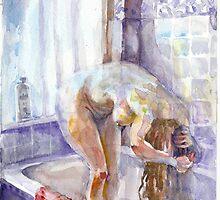 Bath Girl by LenHawkins