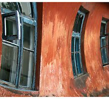 Red house with the blue windows - Bakhchisaray, Ukraine by JustD