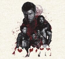Spartacus and his rebel leaders by comics2movies