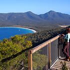 Wineglass Bay. Tasmania, Australia. by Ralph de Zilva