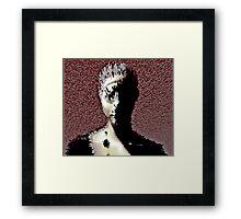Model - (in Blocks) Framed Print