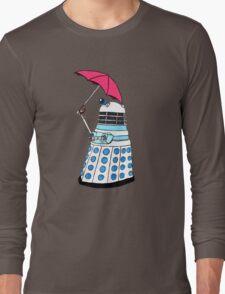 Pink Umbrella Long Sleeve T-Shirt