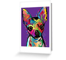 Chihuahua Art Greeting Card