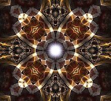 The Golden Sun Fan by xzendor7