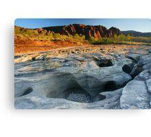 Camping at Bungle Bungles Range, Purnululu National Park, Western Australia Canvas Print