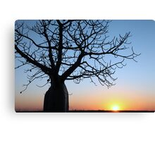 Cool Sunset Canvas Print