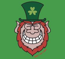 St Paddy's Leprechaun Grinning from Ear to Ear by Zoo-co