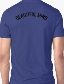 Pure Beautiful Mind (Black on White) T-Shirt