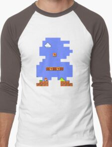 Super Mario Retro Men's Baseball ¾ T-Shirt