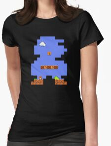 Super Mario Retro Womens Fitted T-Shirt