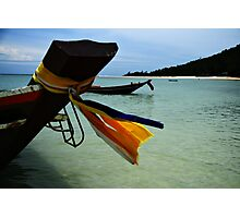 Thai Boat Photographic Print