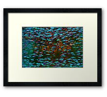 Underwater Abstract Gallery - Piece 5 (Surrealistic) Framed Print
