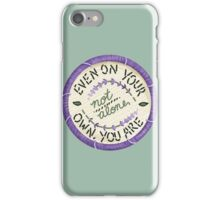 Walk the Moon Portugal Embroidery Style Design iPhone Case/Skin