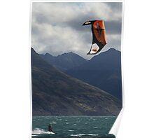 Windsurfing Wonder Poster