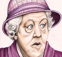 The original Miss Marple : Dame Margaret Rutherford (501 views as at 16th August 2011) by Margaret Sanderson
