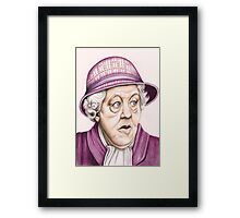 The original Miss Marple : Dame Margaret Rutherford (501 views as at 16th August 2011) Framed Print