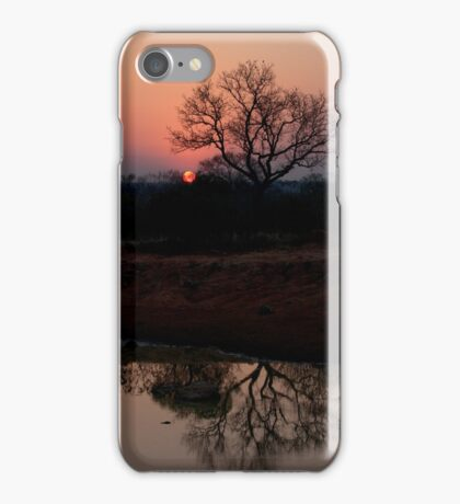 Lion Sands Sunset iPhone Case/Skin