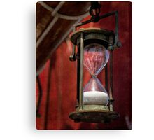 Antique timekeeper Canvas Print