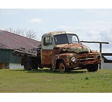 Rusty Old Truck Photographic Print