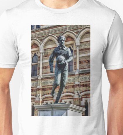 Statue of William Webb Ellis Unisex T-Shirt