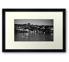 Summercove Framed Print