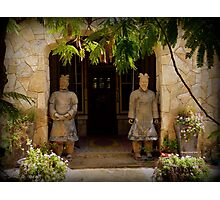 Ancient Guards Photographic Print