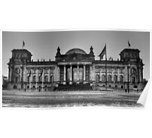 Reichstag BW Poster