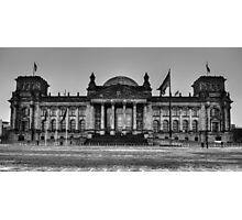 Reichstag BW Photographic Print