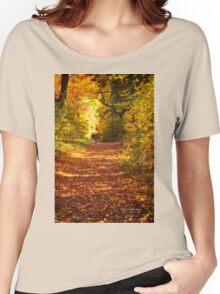 Autumn Colours 3 - MacKenzie-King Estate Women's Relaxed Fit T-Shirt